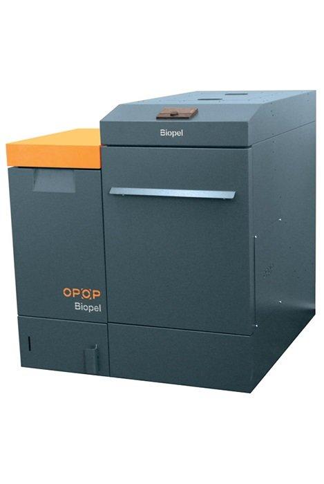 OPOP Biopel Premium 15 kw ar automātisku degļa un siltummaiņa tīrīšanu , komplektā ar granulu granulu tvertni (izmēru iespējams izvēlēties, cena no tā nemainās)