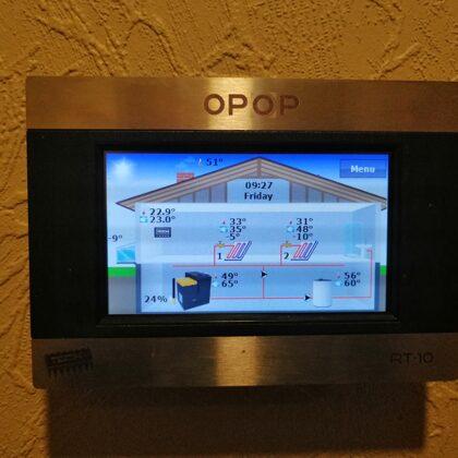 Opop Biopel telpas termostats