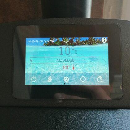 Onyx Hydro vadības paneli, laba opcija-karstā ūdens sildīšanas iespējas